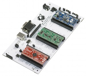 Development Boards 3/4 View
